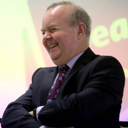 Picture Of Pupils grill comedian and satirist Ian Hislop about his career