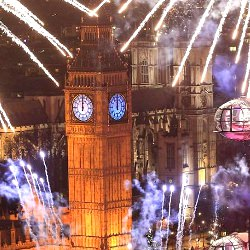 Picture Of Londoners paid and £2.3m for New Year`s Eve fireworks but only got a third of tickets