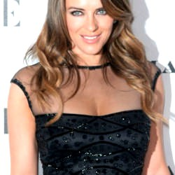 Picture Of Get the look: Liz Hurley at the Vogue 100: A Century of Style exhibition