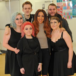 Picture Of X Factor star wows Warrington Collegiate students